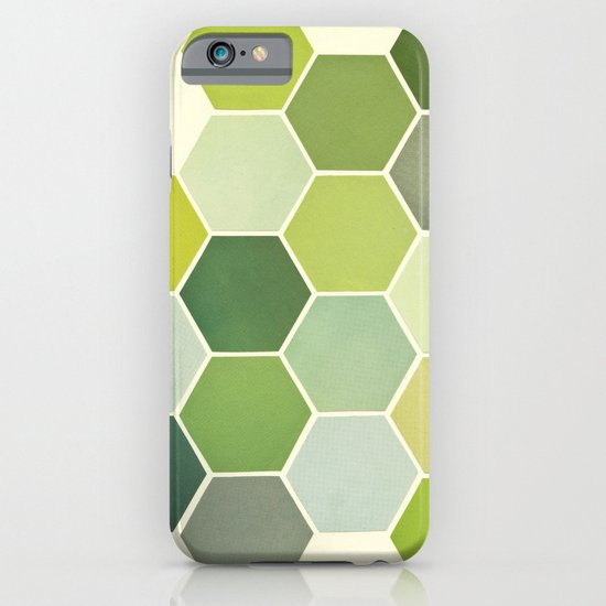 Shades of Green iPhone & iPod Case