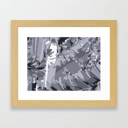 The Unreal and Absolute Always Keeps Its Formation Framed Art Print