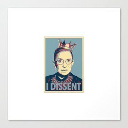 Notorious RBG Canvas Print