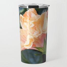 Jane Cowl Tropical Hibiscus Side Profile Travel Mug