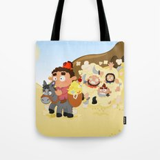 Ali Baba and the 40 thieves (Arabian nights) Tote Bag
