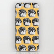 Minifigure Pattern – Yellow iPhone & iPod Skin