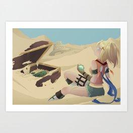 Rikku .  Final Fantasy X Art Print