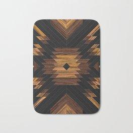 Urban Tribal Pattern No.7 - Aztec - Wood Bath Mat