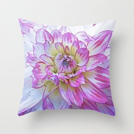 Suite Flower #1 Throw Pillow