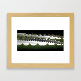 Sea of Knives and Nature #1 Framed Art Print