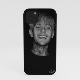 Lil Peep poster iPhone Case