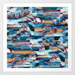 Caustic Gloom Art Print