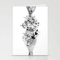 return Stationery Cards featuring Return by Sungwon