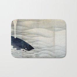 ito jakuchu – whale Bath Mat