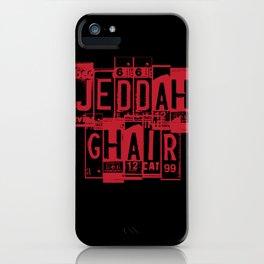 Jeddah Ghair iPhone Case
