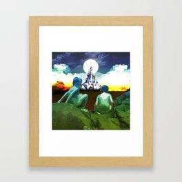 Adventure Finding Keepers Framed Art Print
