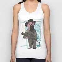 police Tank Tops featuring le police by liquidpig