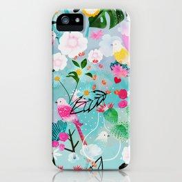 jolly birds iPhone Case