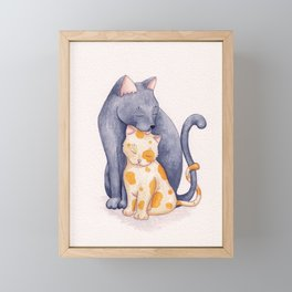 Mother's Love Framed Mini Art Print
