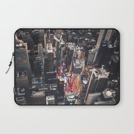 times square in new york Laptop Sleeve
