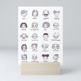 Emotions & Feelings Mini Art Print