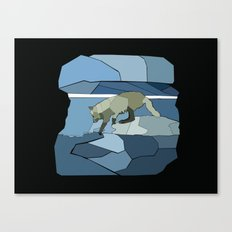 Artic Wolf Canvas Print