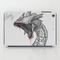 hydra iPad Cases featuring Hydra by Sara Saeed