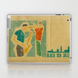 Black Sea Jazz Laptop & iPad Skin