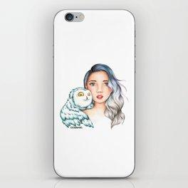 "Element Girls Drawing - ""Air"" iPhone Skin"