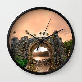 Never Never Land, St John 2010 Wall Clock