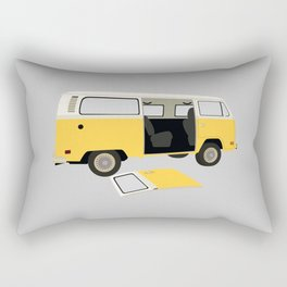 little miss sunshine Rectangular Pillow