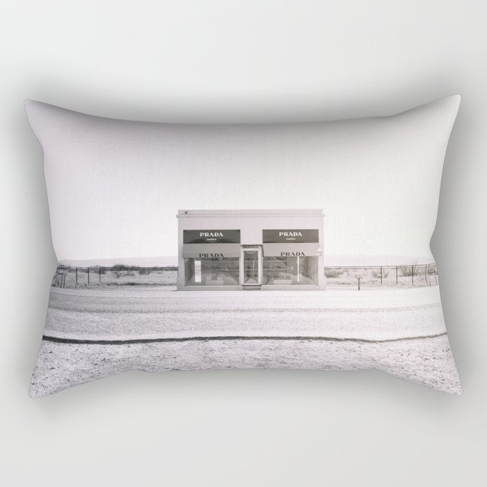PradaMarfa - Black and White Version Rectangular Pillow