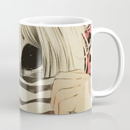 peeping cat Coffee Mug