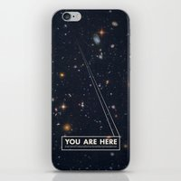 stars iPhone & iPod Skins featuring THE UNIVERSE - Space | Time | Stars | Galaxies | Science | Planets | Past | Love | Design by Mike Gottschalk