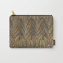 Lady Curzon's Peacock dress Carry-All Pouch