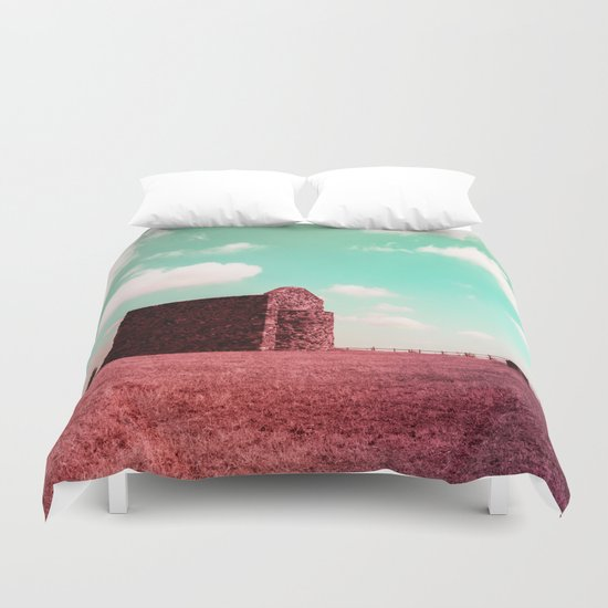 Candy my Castle Duvet Cover