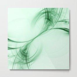 Light Green Pulsar Metal Print