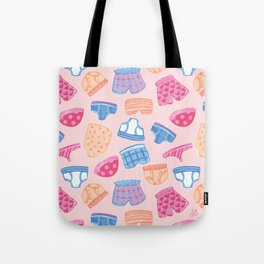 Underwear Pattern Tote Bag