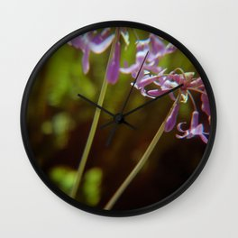Sea Ranch bloom Wall Clock
