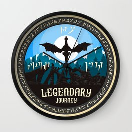 Legendary Journey Wall Clock