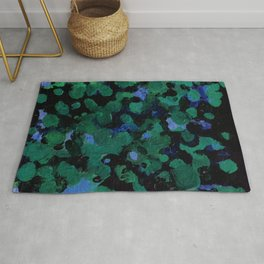 Lily Pond Painting Rug