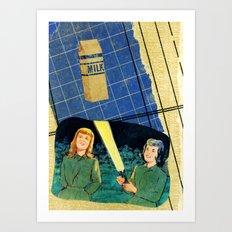 Flash Formulae Art Print