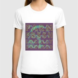 Farm Fresh locally sourced T-shirt