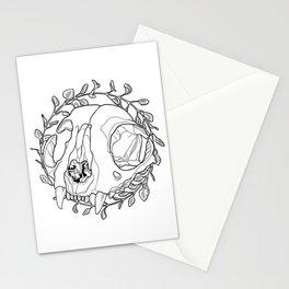 oregano wreath Stationery Cards