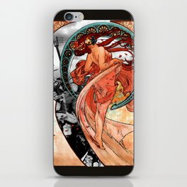 Fire Dance on the Western Front iPhone Skin