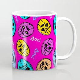Halloween monster mask Coffee Mug