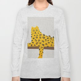 Leopard Lazy Long Sleeve T-shirt