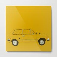 Yugo —The Worst Car in History Metal Print