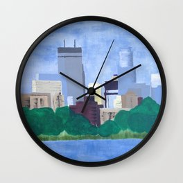 Calhoun Minneapolis Wall Clock