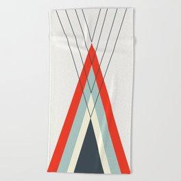 Iglu Moderno Beach Towel