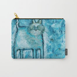 A bit tensed Carry-All Pouch
