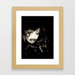 Black Metal - Dark intentions Framed Art Print