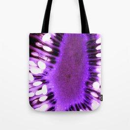 Purple Kiwi Tote Bag