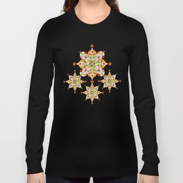 Rainbow Carousel Starburst Long Sleeve T-shirt